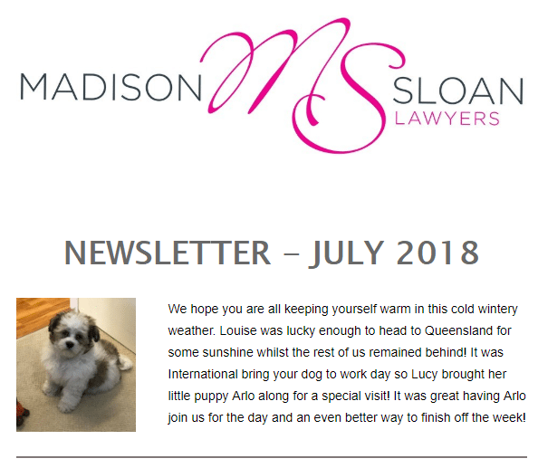 July Newsletter - Discussing the Elephant in the room